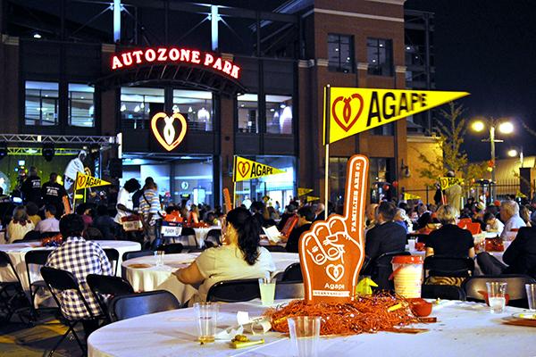 Agape Heartlight 2010 at AutoZone Park