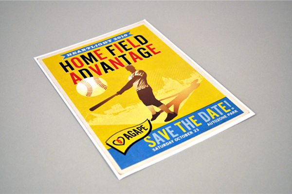Agape Heartlight 2010 Save-the-Date Postcard