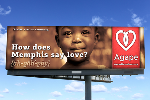 Agape Billboard