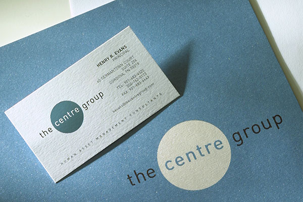 The Centre Group corporate identity
