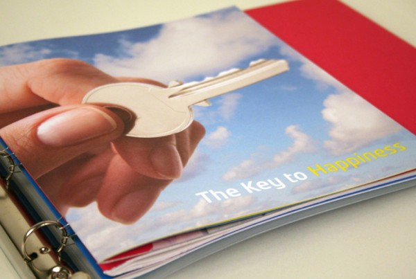 """The Key to Happiness"" introduced users of the ColorLok brand and reminded them of their role in making end-users happy with the paper-enhancing benefits of ColorLok Technology."