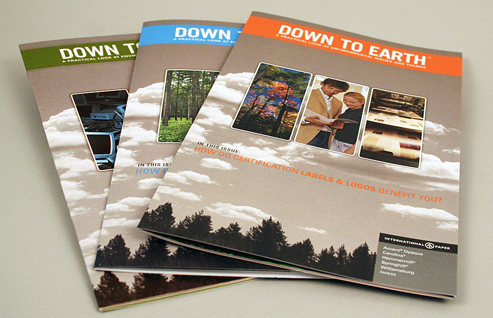 """International Paper """"Down to Earth"""" Communications Series"""