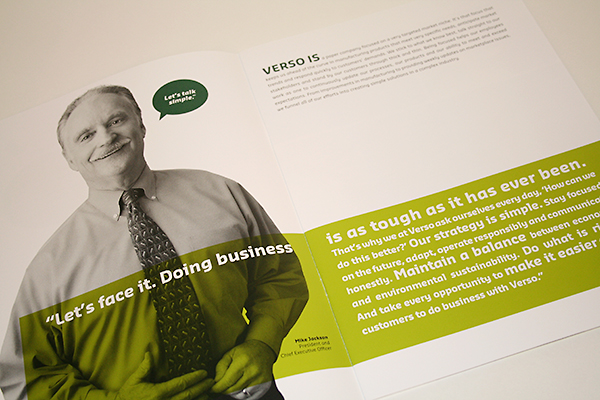 Verso Brochure Spread