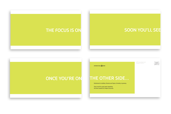Verso Launch Teaser Postcards